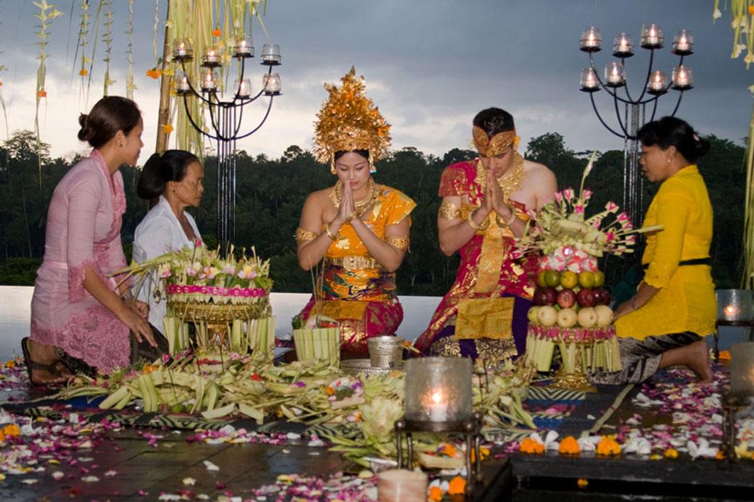 Indonesia Rituals Weddings And Funerals: Nganten Ceremony