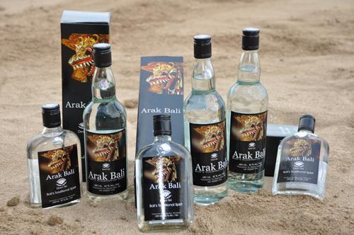 Arak National Liquor Of Bali Bali Tours